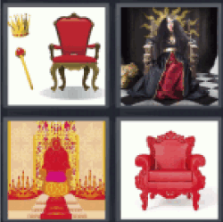 4-pics-1-word-throne