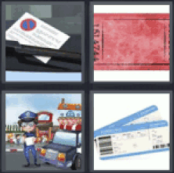 4-pics-1-word-ticket