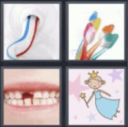 4 pics 1 word toothpaste