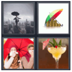 4-pics-1-word-umbrella
