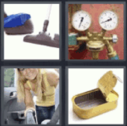 4 pics 1 word vacuum cleaner