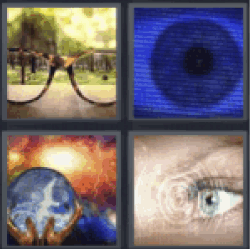 4 pics 1 word glasses eye