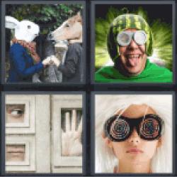 4-pics-1-word-weird