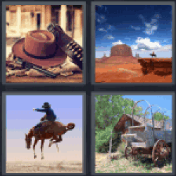 4-pics-1-word-western