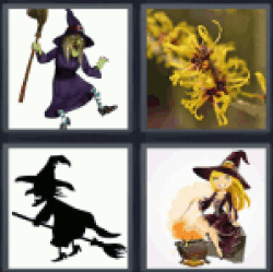4-pics-1-word-witch