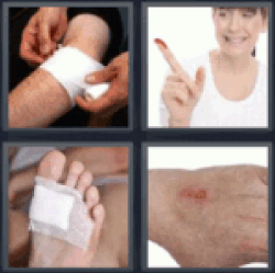 4-pics-1-word-wound