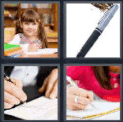 4-pics-1-word-write