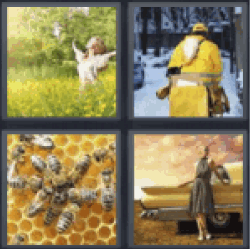 4 pics 1 word woman in a field