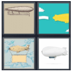 4 pics 1 word flying blimps