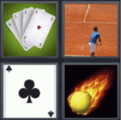 4 pics 1 word cards