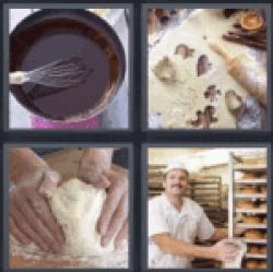 4 pics 1 word pastry bread
