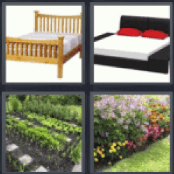 4-pics-1-word-bed