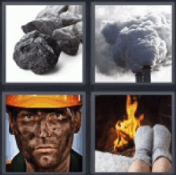 4-pics-1-word-coal