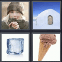 4 pics 1 word igloo