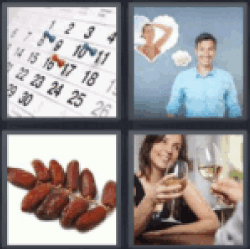 4 pics 1 word calendar dates