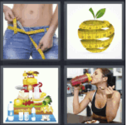 4-pics-1-word-diet