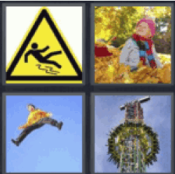 4 pics one word 4 letters