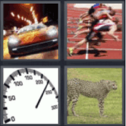 4 pics 1 word sports car
