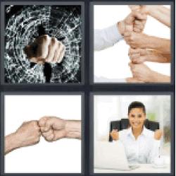 4-pics-1-word-fist
