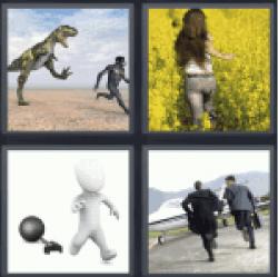4-pics-1-word-flee