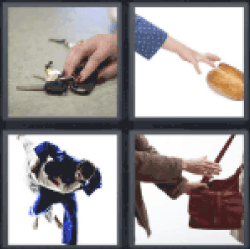 4 pics 1 word car keys