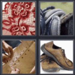 4 pics 1 word red lace