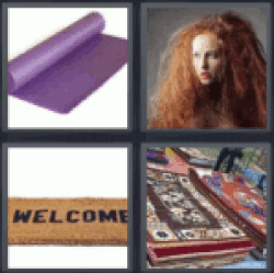 4 Pics 1 Word rugs