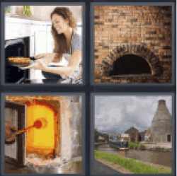 4 Pics 1 Word girl cooking