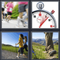 4 Pics 1 Word Chronometer