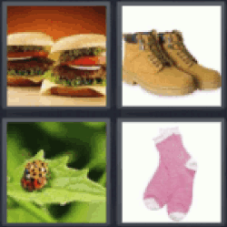 4 pics 1 word two hamburgers