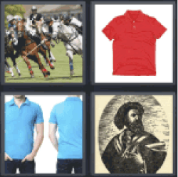 4 Pics 1 Word Horse riding