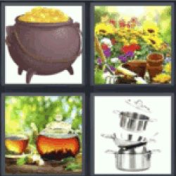 4-pics-1-word-pot