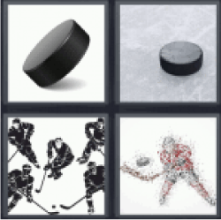 4 Pics 1 Word hockey players
