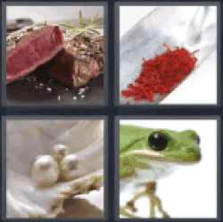 4 Pics 1 Word cut of meat