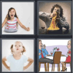 4 Pics 1 Word Girl screaming
