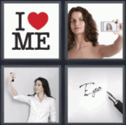 4 Pics 1 Word I love me