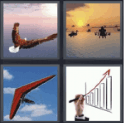4 Pics 1 Word eagle