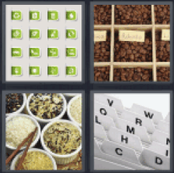 4 pictures 1 word green refresh symbol