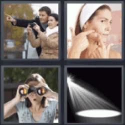 4 pics 1 word couple pointing