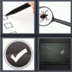 4 Pics 1 Word checklist