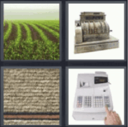 4 Pics 1 Word farmlands