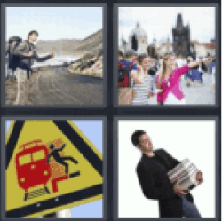 4 pics 1 word hitchhiker