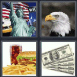 4 pics 1 word statue of liberty