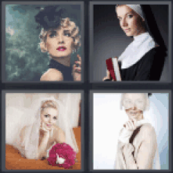4-pics-1-word-veil