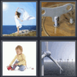 4 pics 1 word woman with white dress