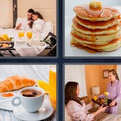 4 pics 1 word pancakes