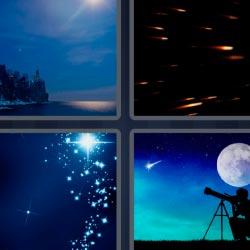 4 pics 1 word telescope