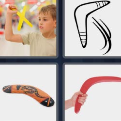 4 pics 1 word Flying toy