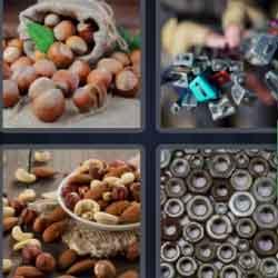 4 pics 1 word hazelnuts
