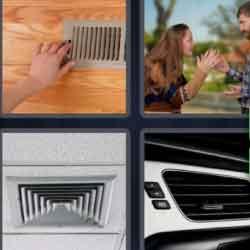 4 pics 1 word ventilation grill